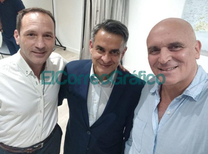 Rail Massulini Luis Rosales y Jose Luis Espert