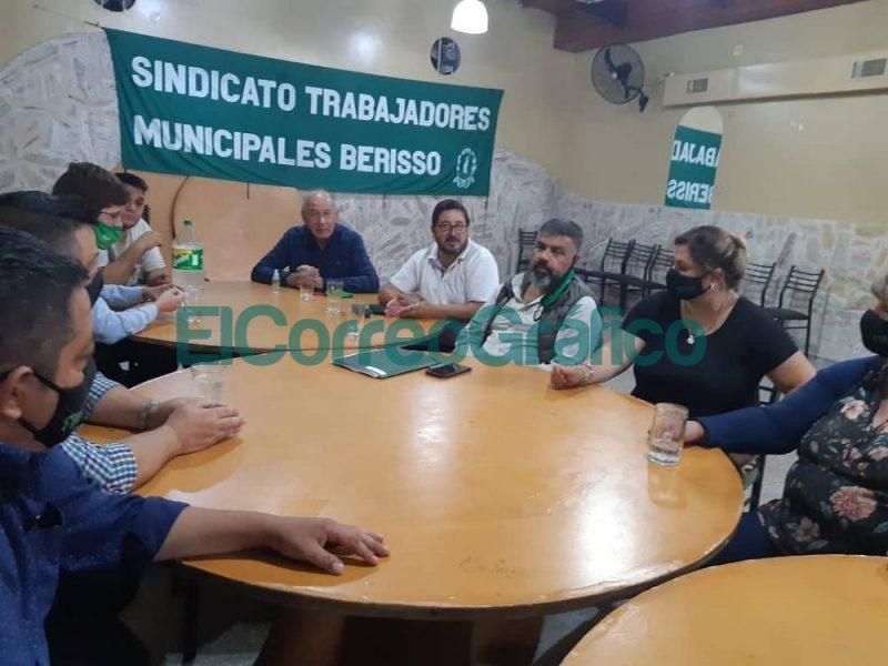 Reunion con la Federacion de Sindicato de Trabajadores Municipales