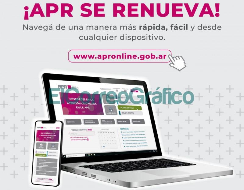 APR presenta un nuevo sitio web para facilitar la gestion de tramites online