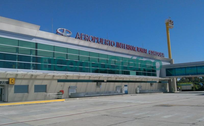 COR aeropuerto de Córdoba Argentina