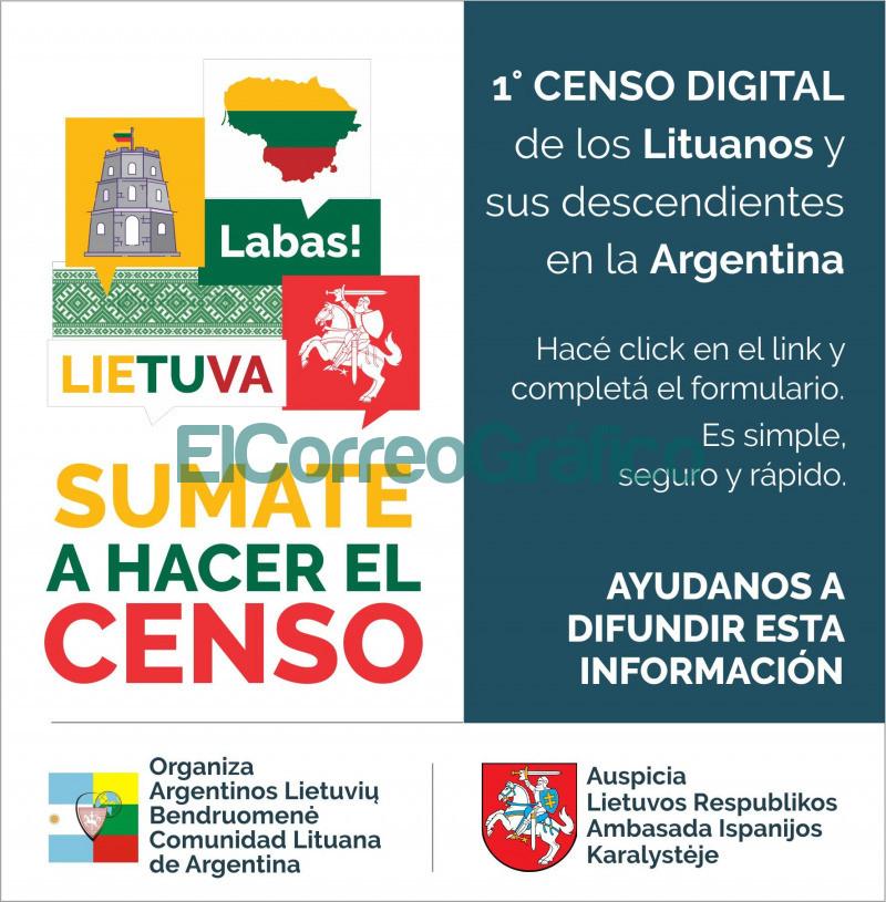 Censo de los lituanos de Argentina