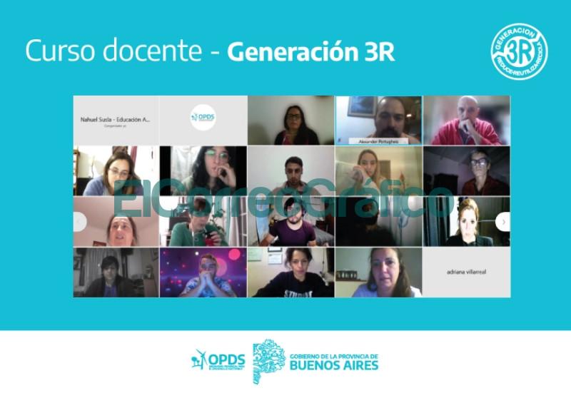 Curso para docentes Generacion 3R del OPDS