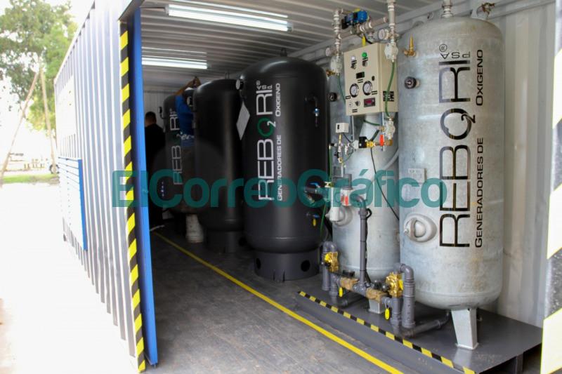 Ensenada cuenta con un generador de oxigeno ante la pandemia 2