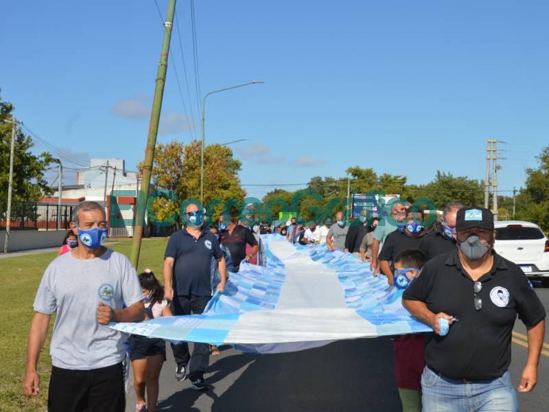 Homenaje a los caidos en la Guerra de Malvinas del CEVECIM 4