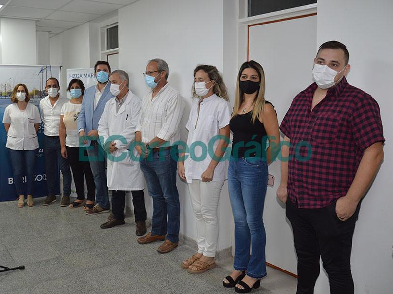 Inauguracion de las salas de radiologia y mamografia del Hospital de Berisso 3