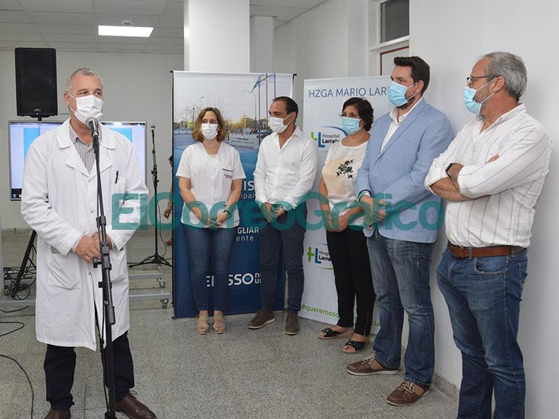 Inauguracion de las salas de radiologia y mamografia del Hospital de Berisso 5
