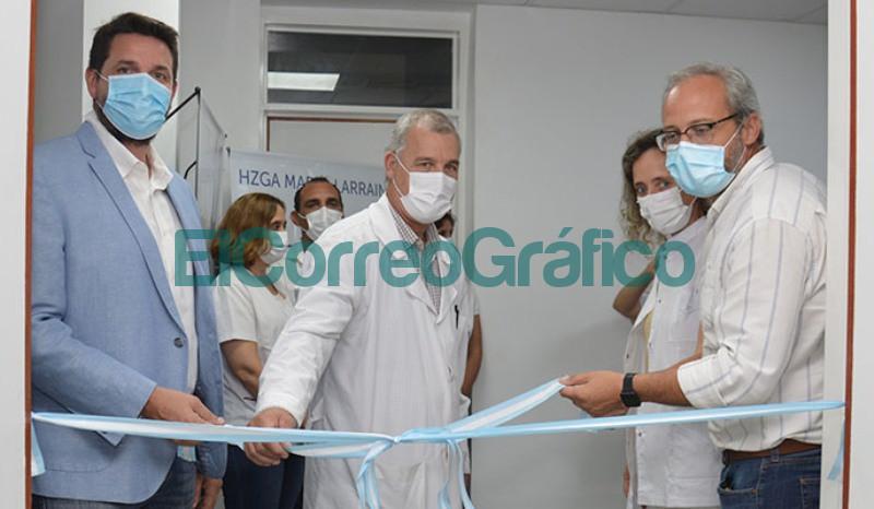 Inauguracion de las salas de radiologia y mamografia del Hospital de Berisso 6