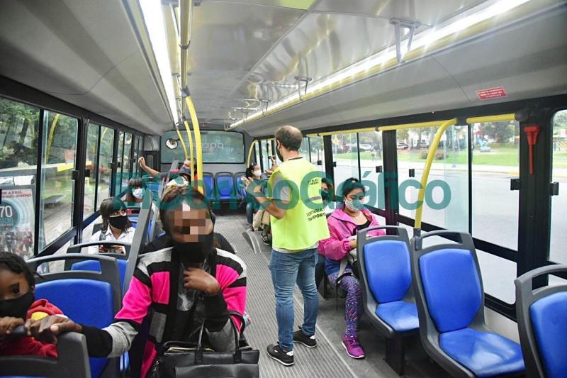 Intensifican controles preventivos Transporte Publico 2