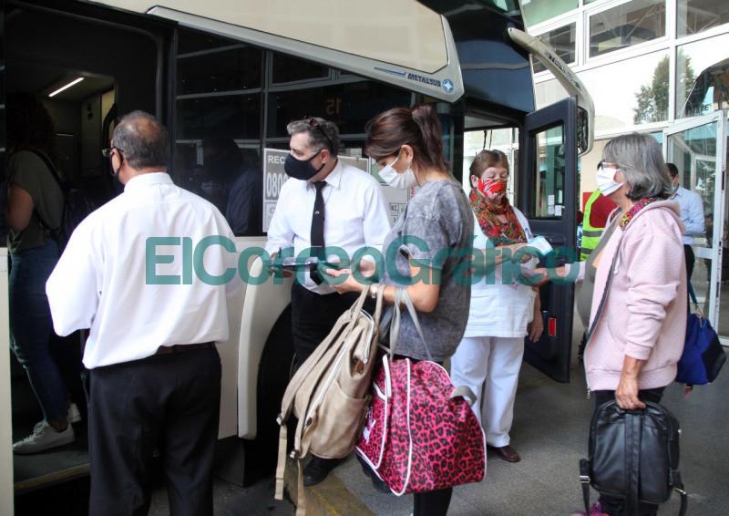 Intensifican los protocolos sanitarios en la Terminal de Omnibus 2