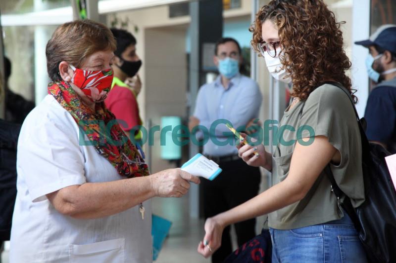 Intensifican los protocolos sanitarios en la Terminal de Omnibus 3