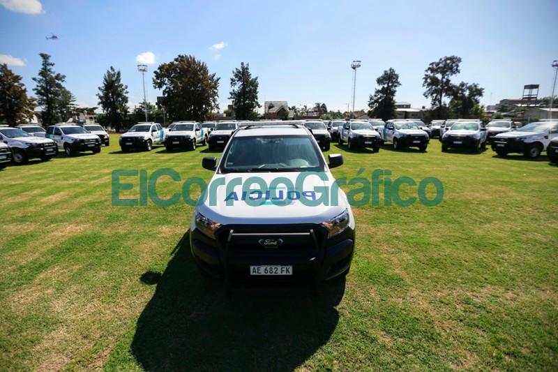 Kicillof Berni y Espinoza pusieron en funcionamiento 80 patrulleros 4