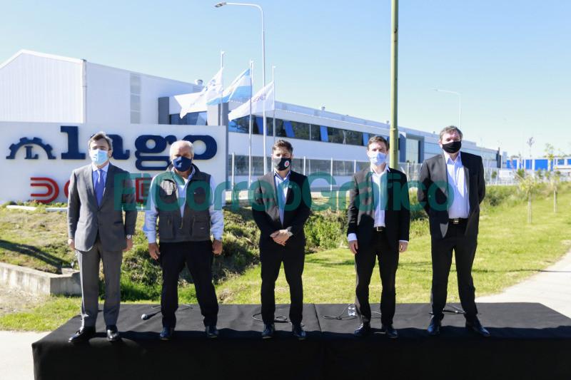 Kicillof Costa y Granados encabezaron la habilitacion del Parque Industrial de Ezeiza 3