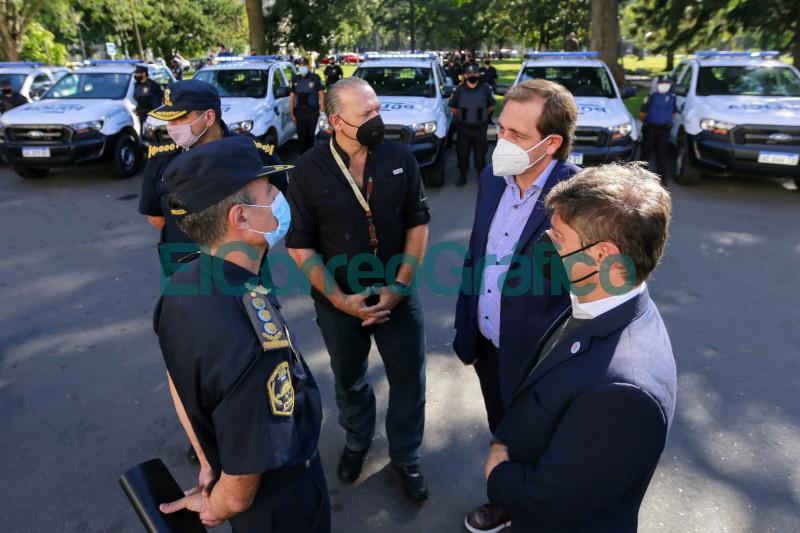 Kicillof puso en marcha 60 nuevos patrulleros para el municipio de La Plata 2