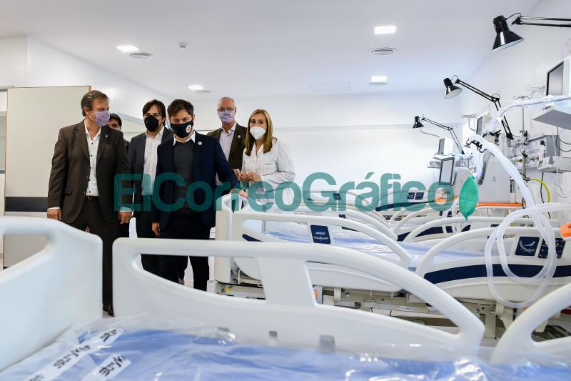 Kicillof recorrio las nuevas instalaciones del Hospital Onativia 5