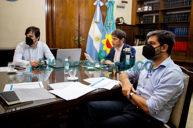 Kicillof se reunio con intendentes del Area Metropolitana 1