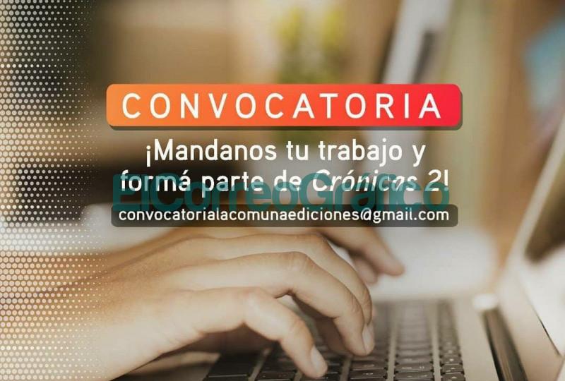 La Comuna Ediciones convoca a participar del libro Cronicas 2