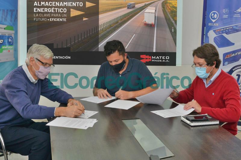 Marcos Actis Martin Mateo y Horacio Frene
