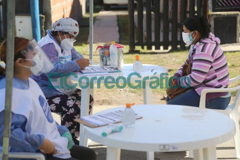 Operativo de testeos en Altos de San Lorenzo 1