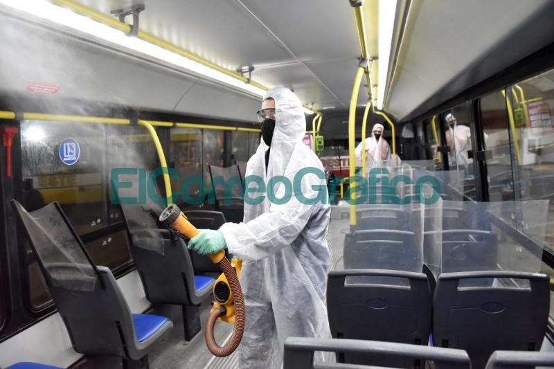 Refuerzan protocolos de prevencion en el transporte publico 1