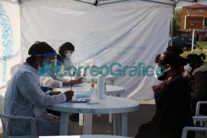 Testeos en Hernandez dentro del operativo sanitario por COVID 19