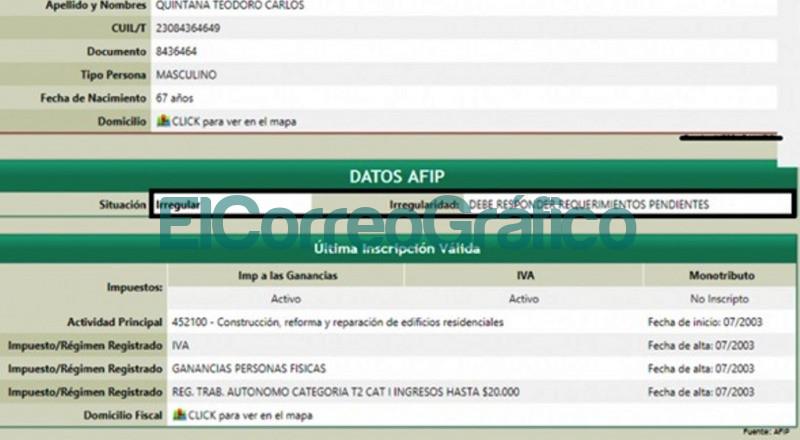 AFIP Carlos Quintana
