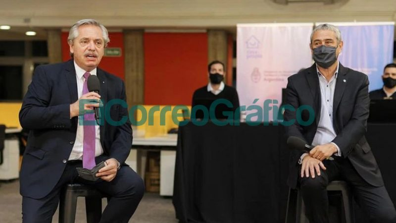 Alberto Fernandez y Jorge Ferraresi