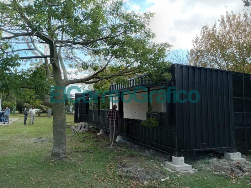 Container PACHAN SRL Parque Civico Foto Natalia Penda 1