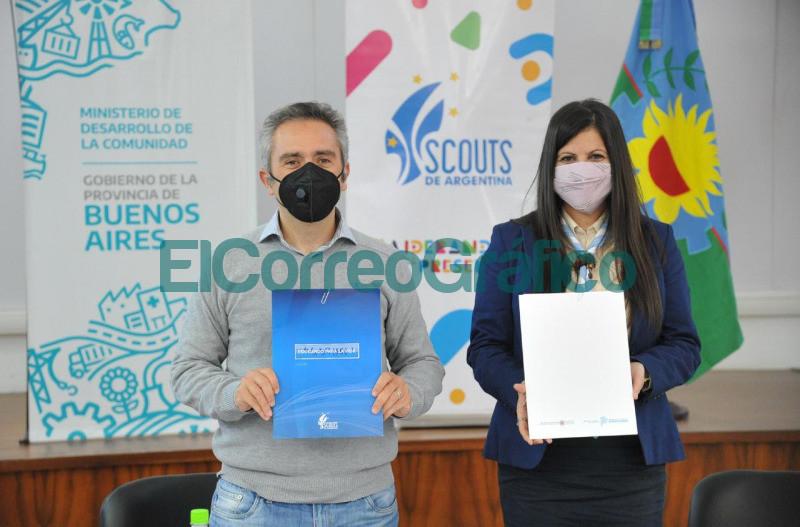 Convenio de cooperacion entre Desarrollo y la Asociacion Scouts Argentina 📬 El Correo Grafico 2