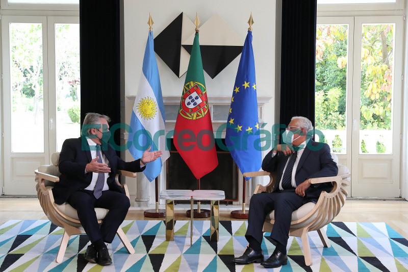 El Primer Ministro de Portugal expreso su apoyo a la posicion de la Argentina en las negociaciones con el FMI 02