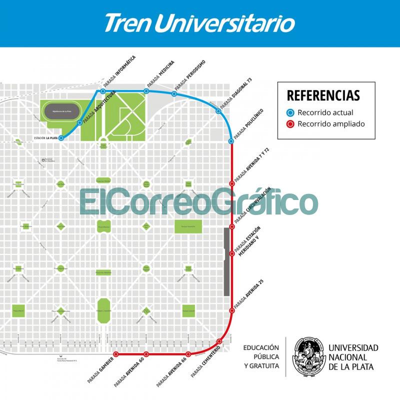 Extenderan el Tren Universitario de La Plata 2
