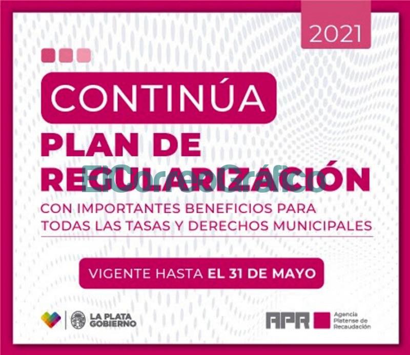 Hasta el 31 de mayo se puede adherir al Plan de Regularizacion Tributaria en La Plata