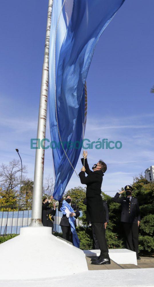 Kicillof encabezo el acto de conmemoracion de la Revolucion de Mayo 4
