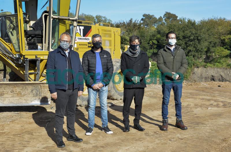 Kicillof recorrio las obras del corredor que conectara Hurlingham y Tres de Febrero 4