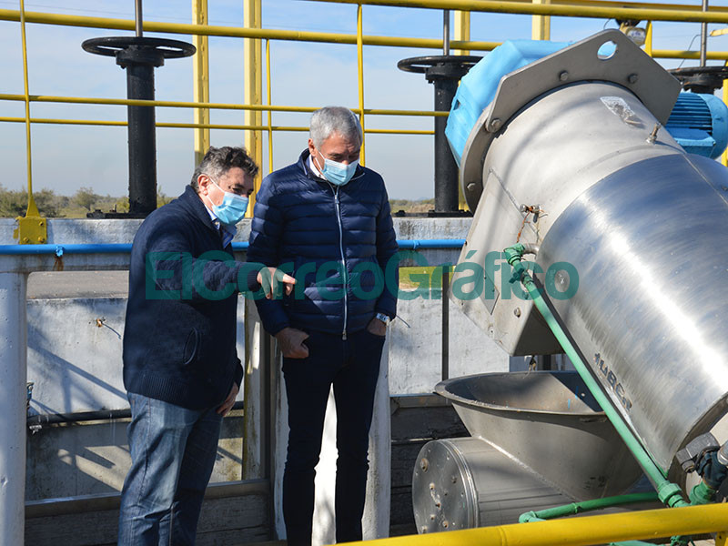 Puesta en valor y funcionamiento de la Planta depuradora de Liquidos cloacales 1