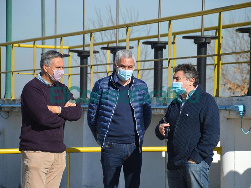 Puesta en valor y funcionamiento de la Planta depuradora de Liquidos cloacales 2