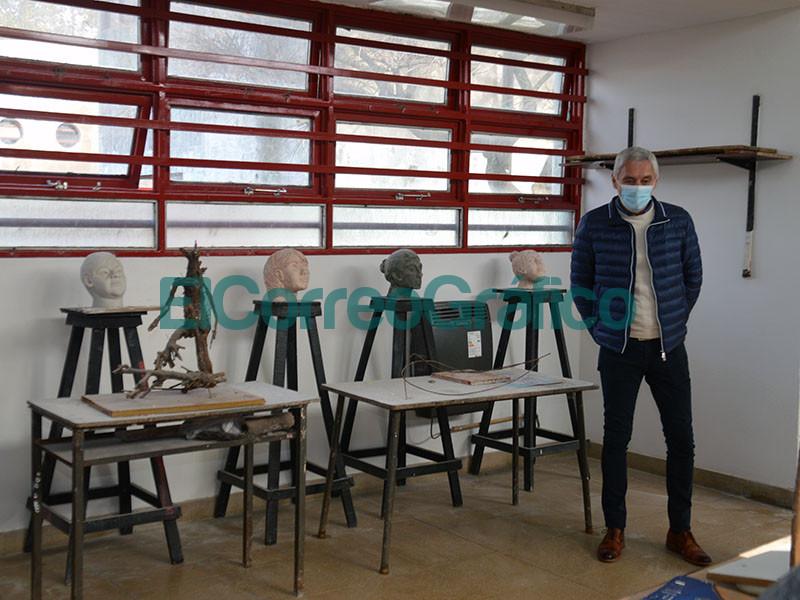 Reparacion y puesta en valor en las Escuelas de Arte y Estetica 3