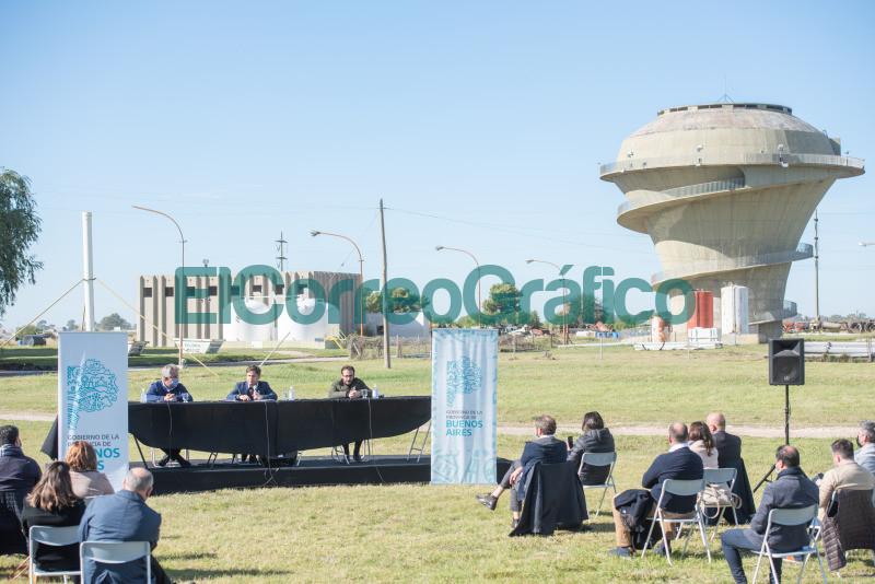 distribucion de agua potable en Bahia Blanca 2