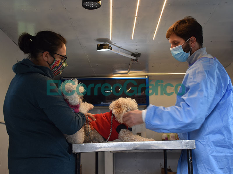 El servicio de Veterinaria Movil estuvo en el Fortin Gaucho 01