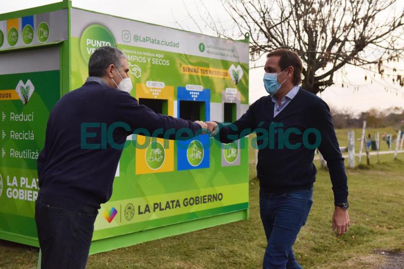 Garro inauguro un 'Punto Verde en Gorina y pidio seguir avanzando hacia una ciudad mas ecologica 2