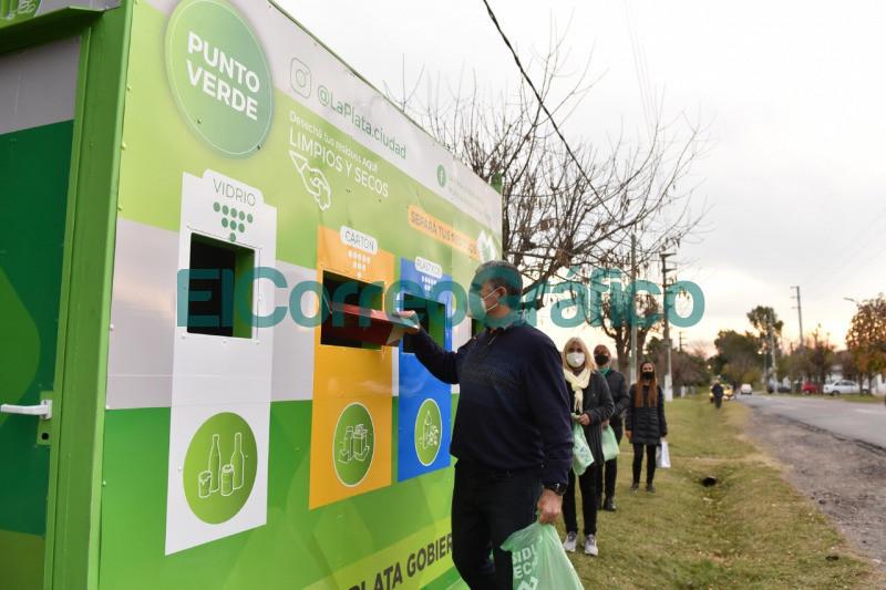 Garro inauguro un 'Punto Verde en Gorina y pidio seguir avanzando hacia una ciudad mas ecologica 3