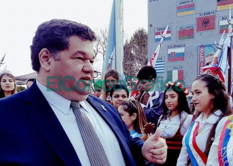 Jorge Nedela Berisso es tierra de trabajo paz y convivencia