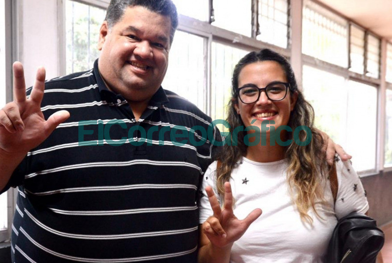 Jorge Nedela y Antonella Villa Chiodo