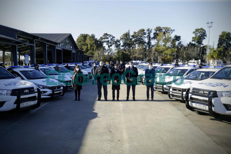 La Provincia puso en marcha 27 nuevos patrulleros para San Fernando 1