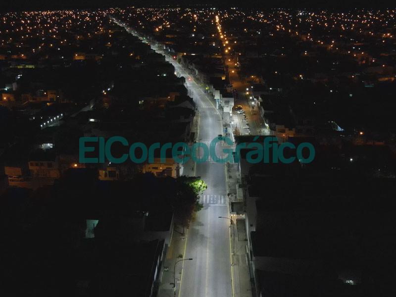 Luces led en toda la Montevideo mientras los cortes en lo barrios persisten 01