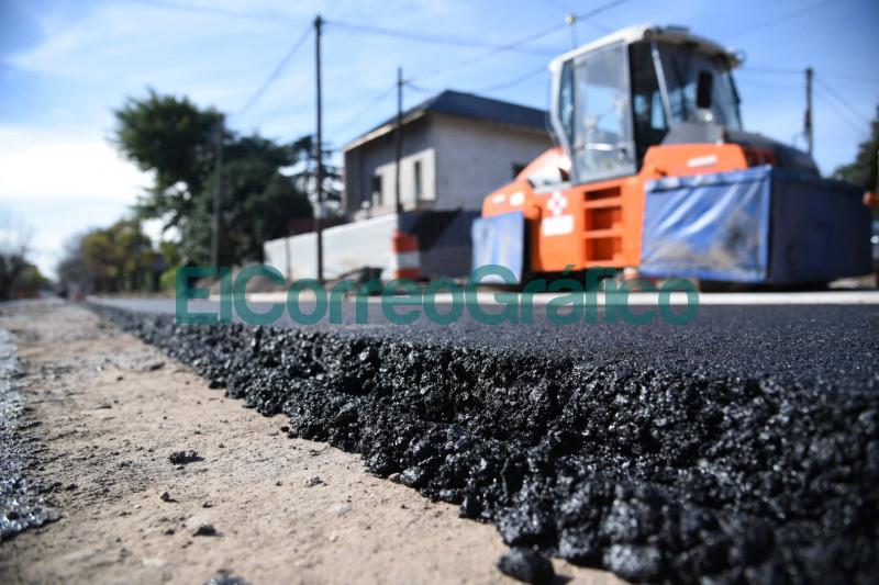 Obra de asfalto sobre la calle 462 de City Bell 📬 El Correo Grafico 5