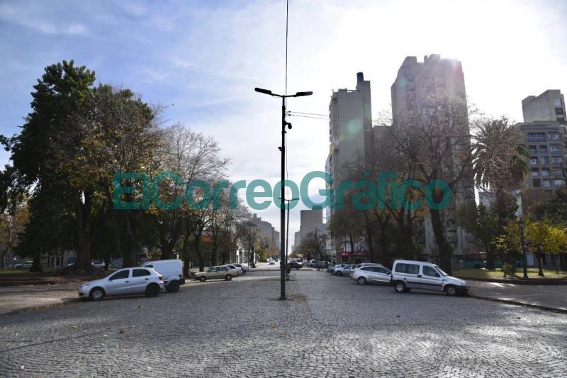 Plaza Italia renovada y con nueva iluminacion LED 4