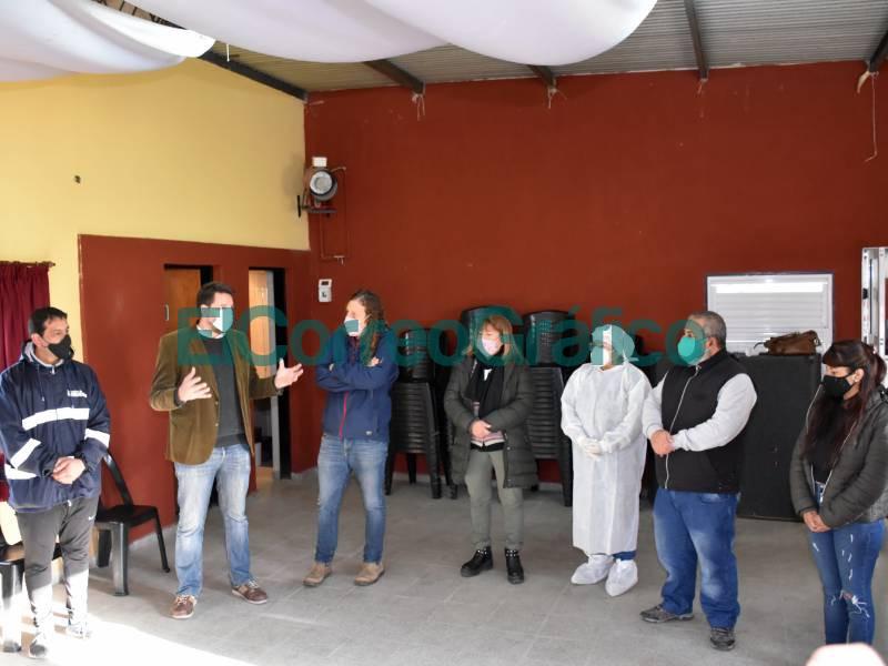Posta de testeo rapido de COVID en el Club Universitario 📬 El Correo Grafico 1