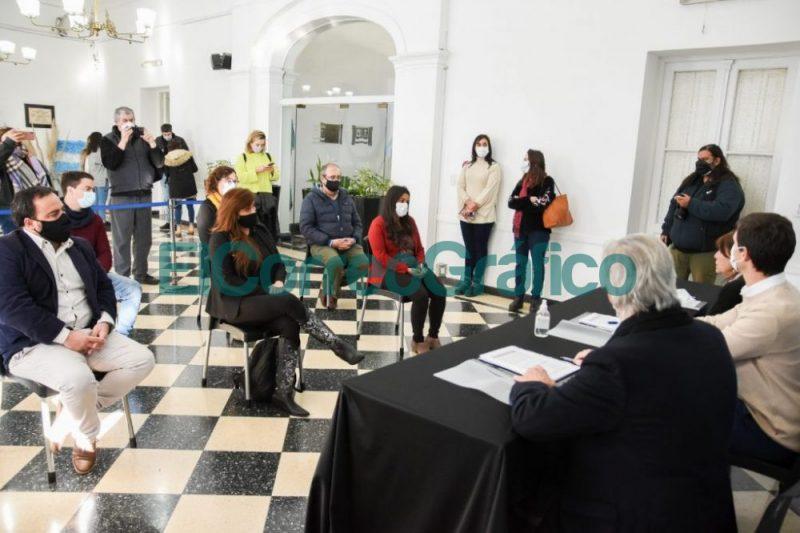 San Vicente recibio tierras para regularizar emprendimientos urbanos