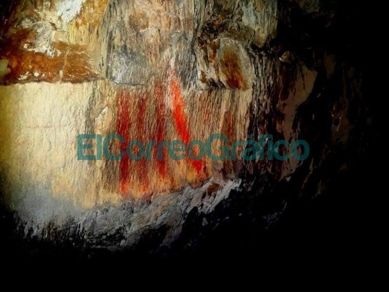 Se hallaron pinturas rupestres en la Reserva Natural Sierras Grandes 1