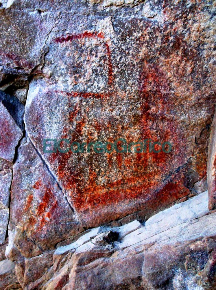 Se hallaron pinturas rupestres en la Reserva Natural Sierras Grandes 3